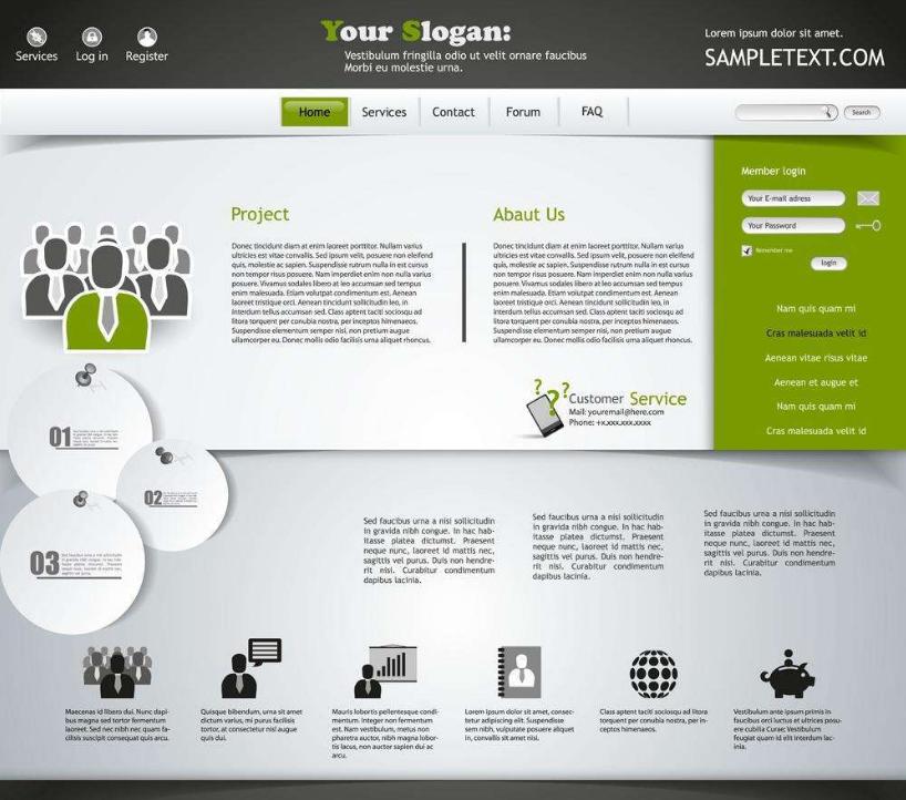 网页设计如何选择合适的配色,网页设计的小秘诀