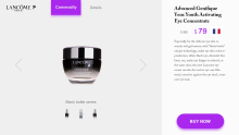 化妆品英文PC网站