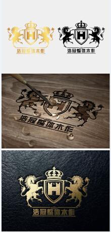 浩冠家具logo设计