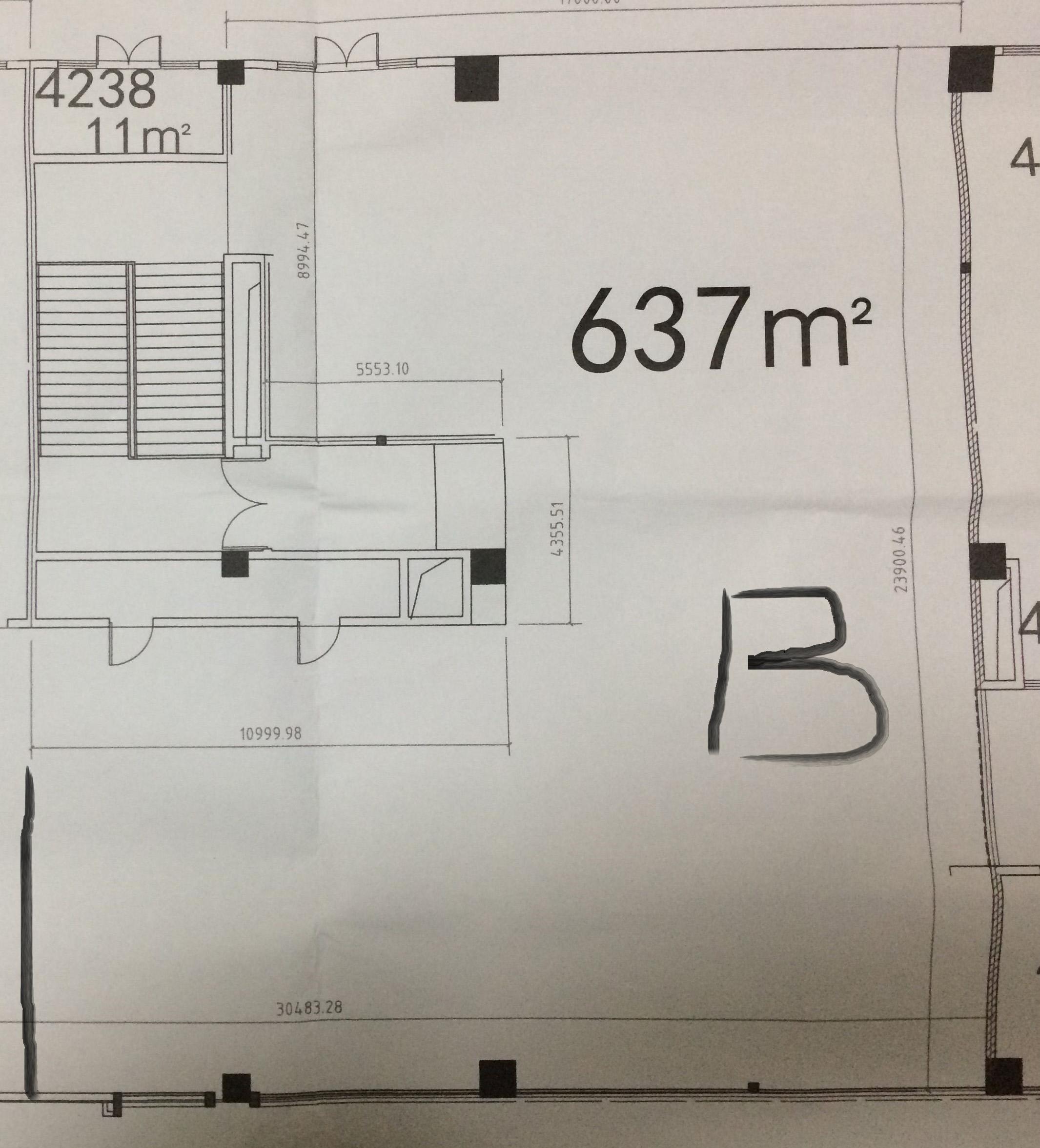 500平中小学培训机构装修平面图设计