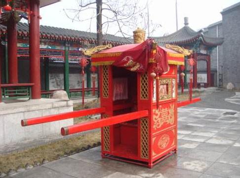 花轿婚礼策划方案欣赏,中式婚礼方案欣赏