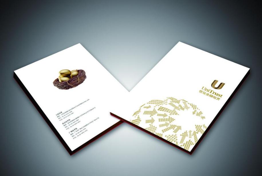 宣传册设计技巧分享:用简单线条设计复杂图案