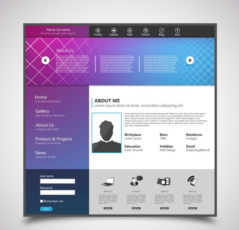 网页设计如何利用负空间增加设计感