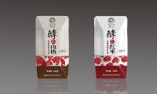 饮品包装设计/山楂汁包装设计/钻石包包装设计