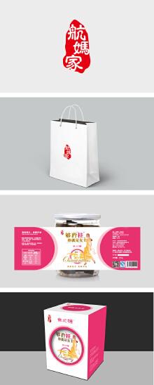 食品品牌航妈家VI设计