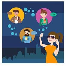 威客服务:[87569] 即时通讯  例如:微信、新浪微博、QQ等
