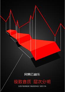 网易云音乐海报设计