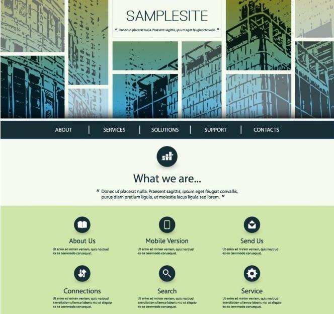 教你如何设计出简洁大气的网页风格 把极简推向极致,PSDEE教程网
