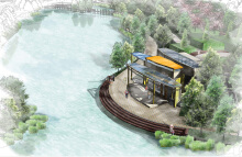 市民广场规划设计  景观设计  湿地设计