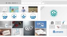 上海市金鼎学校标志设计
