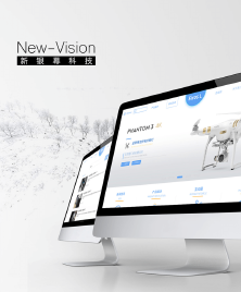 新银幕科技UI自适应整套设计