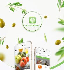 去买菜app ui界面设计