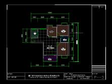 农村三层框架房建筑图设计