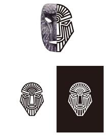 """贵州乐队""""神納姆""""乐队logo"""