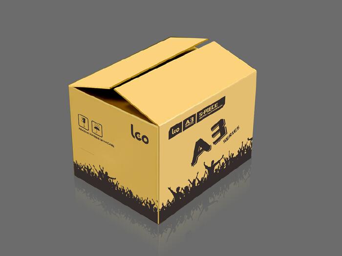 乐器产品纸箱上印刷图案设计