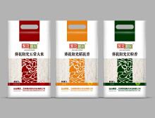 大米白色系列包装设计
