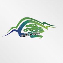 蓝野十间房营地logo设计