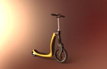 变型滑板车
