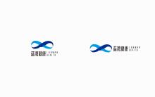 蓝湾健康logo设计案例