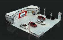 众泰汽车商业空间展厅设计