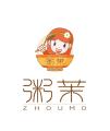 粥茉方便粥logo设计