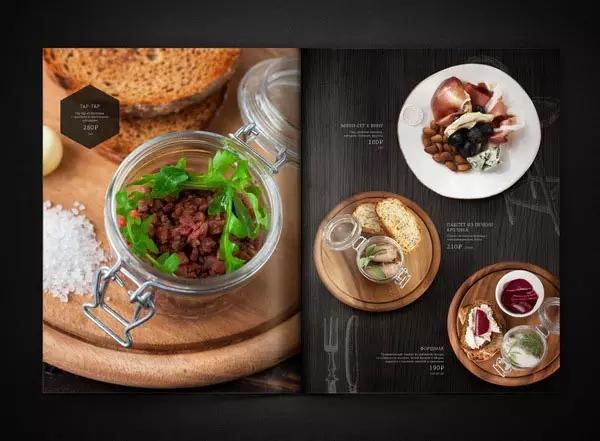 优质菜单设计有多重要,好看的菜单会让顾客多点两个菜