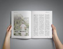 杂志排版设计