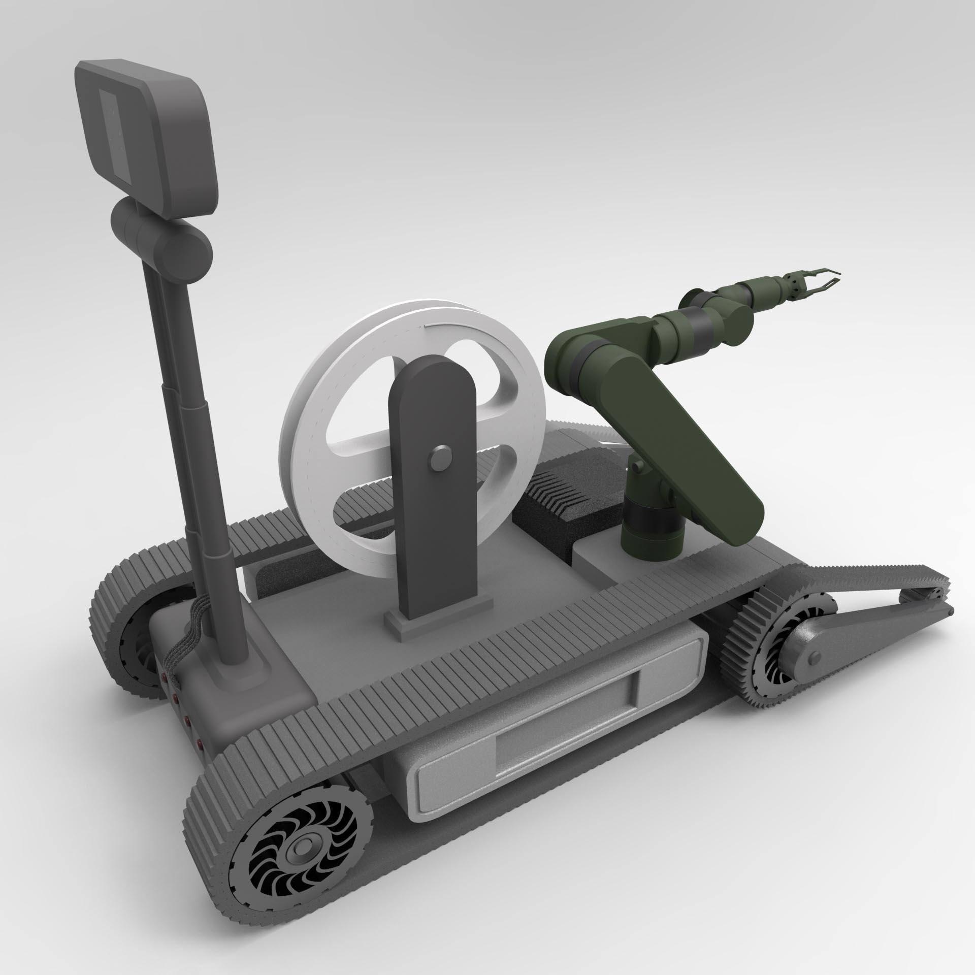 机器人外观设计