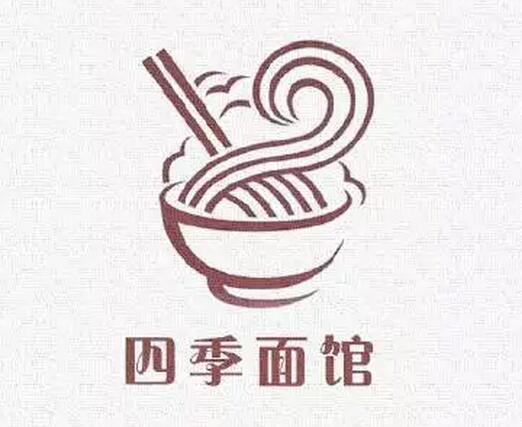 面馆logo设计得这么别出心裁,引爆你的店流量!