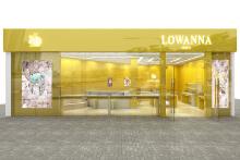 lowanna银饰品牌街铺店设计
