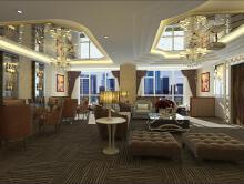 唐年酒店休息区