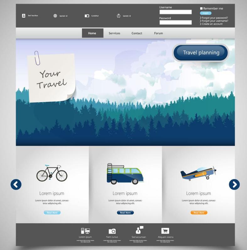 创意网页设计技巧,如何让网页别具一格