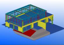 澳大利亚钢结构详图 美国杜邦深圳车公庙厂