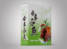 香草芬鱼包装设计