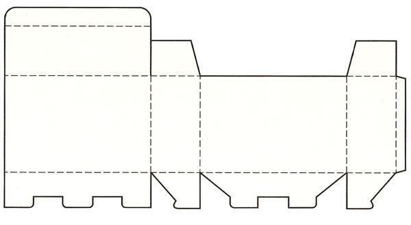 首页 威客攻略 包装设计展开图  3,间壁封底式:间壁封底式结构是将管