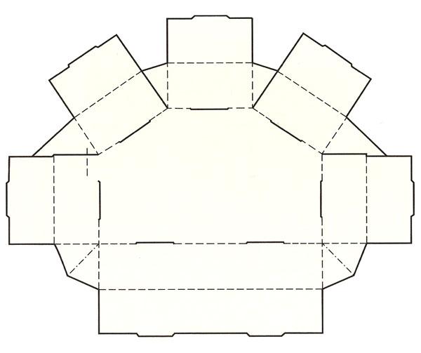 到这里就讲完了 常用包装盒纸盒的结构及展开图了,如有需要可以