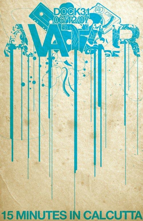 国外音乐会海报设计欣赏