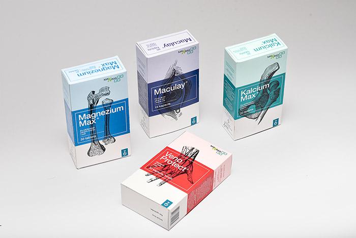 zada膳食補充劑藥品包裝設計