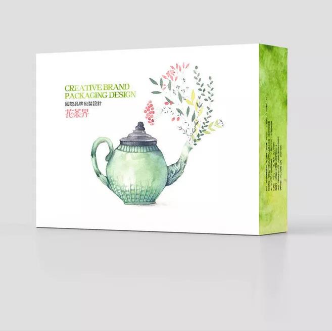 国际花茶包装设计作品