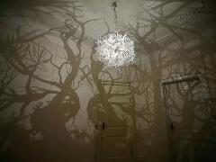 枝形吊灯让你恍如置身丛林的室内设计