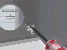 3D动画制作_楷模五金产品3D渲染展示安装过程展示