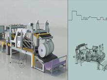 生产线动画制作 机械机构动作3D演示 3D建模渲染