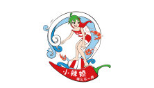 虾辣酱 卡通形象设计(瓶身标签)