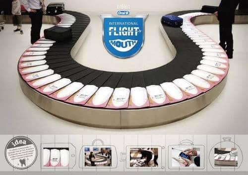 牙齿医疗广告设计素材