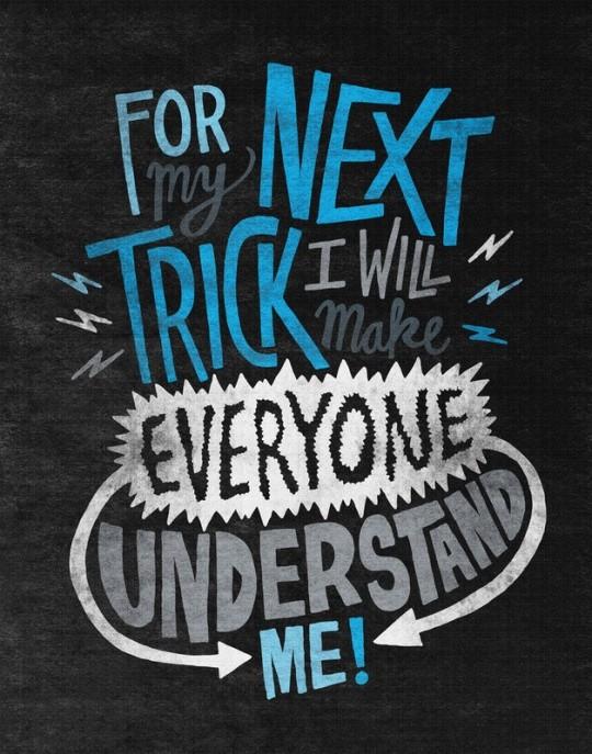 超棒创意艺术字体设计案例