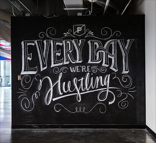 超好看国外美术字体设计素材