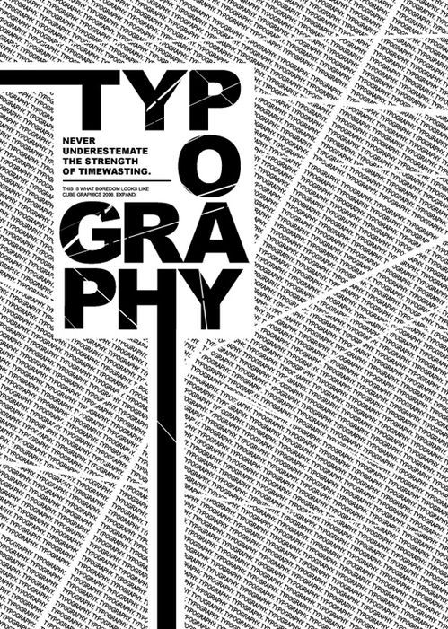 国外创意海报字体欣赏