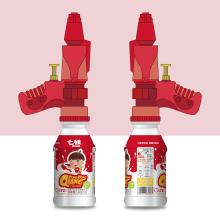 儿童乳酸菌饮料包装