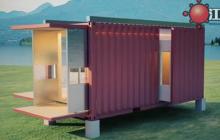 集装箱三维演示动画