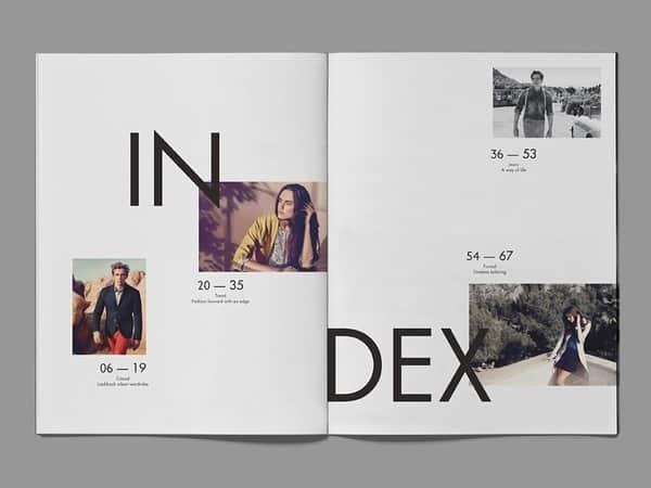 15张国外创意排版设计欣赏